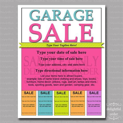 How to write garage sale ad jpg 600x601